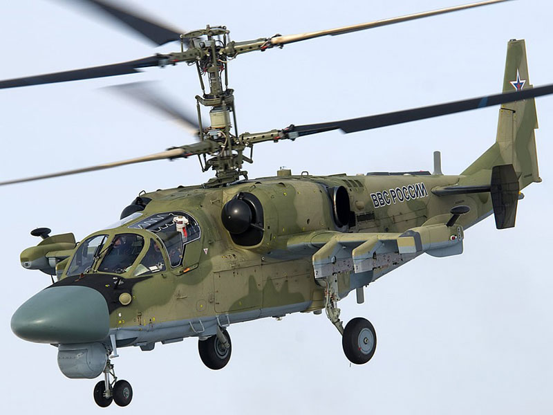 Russian Air Force to Receive 16 Ka-52 Helicopters in 2015