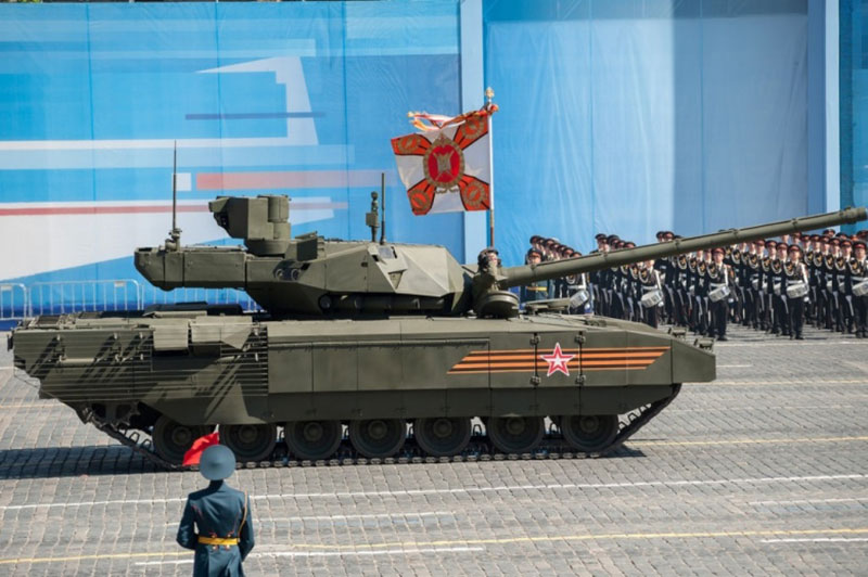 Russian Armata Tank to Show Combat Capabilities in 2017