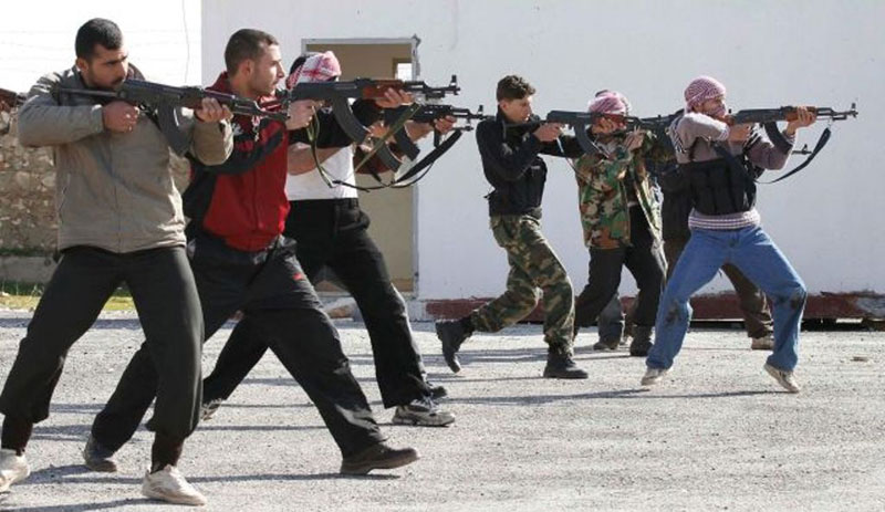 U.S. Soldiers Arrive in Turkey to Train Syrian Rebels