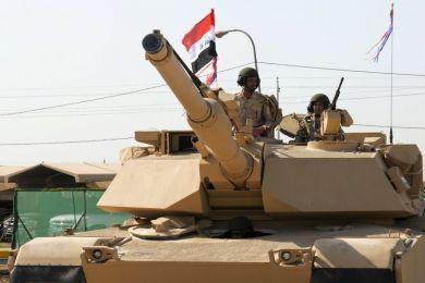 Iraq: M1A1 Abrams Tank Ammunition