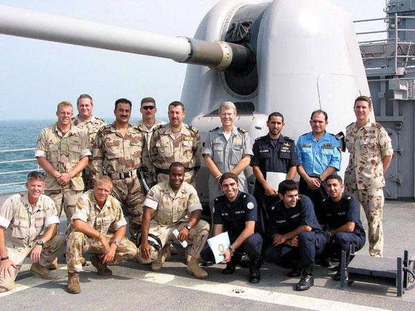 Iraqi Sailors Graduate from Patrol Boat Training in U.S.