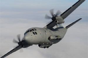 Morocco Receives First C-27J Aircraft
