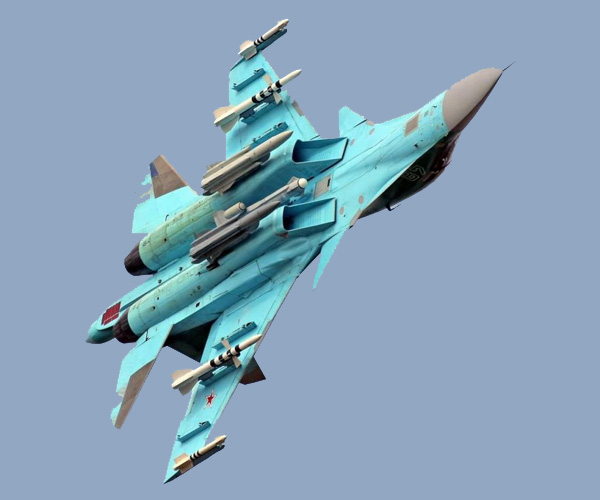 Su-34 Fighter Bomber to Get New Avionics