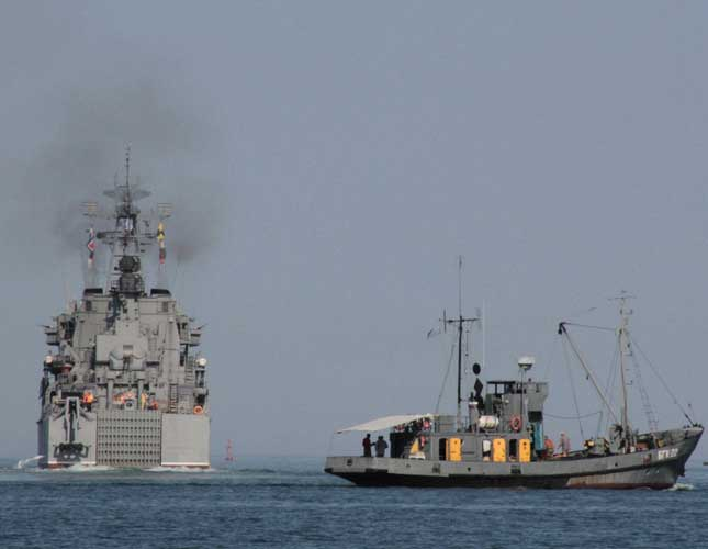 Russia, Syria Agree to Expand Tartus Naval Base