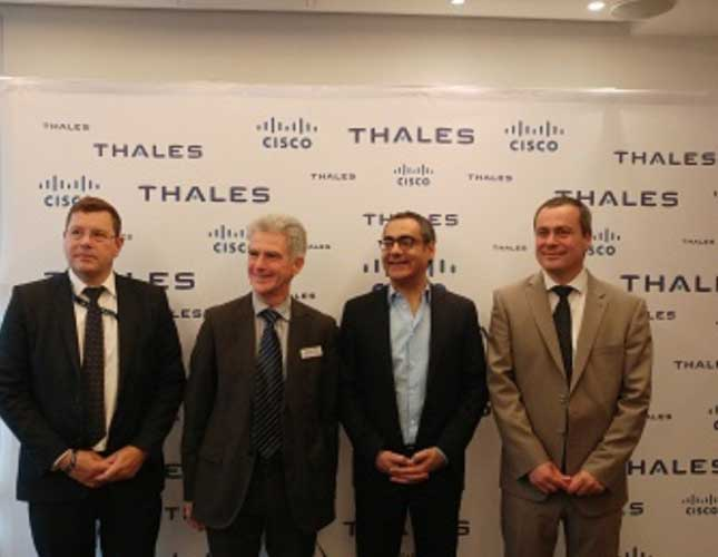 Thales, Cisco Launch Cyber security Solution