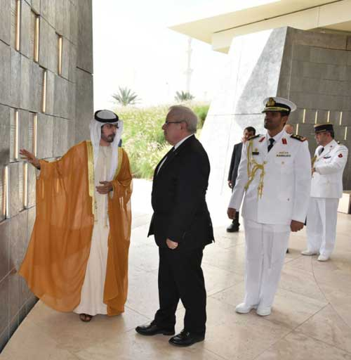 Chief of Staff of French Navy Visits UAE