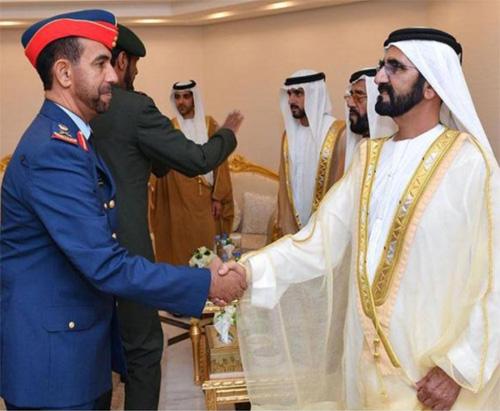 UAE VP Attends Khalifa Air College Graduation Ceremony