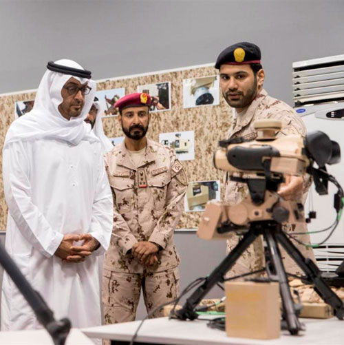 Abu Dhabi Crown Prince Hails Armed Forces Training Skills
