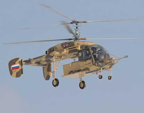 UAE Eyeing Kamov Ka-226, Ansat Light Helicopters