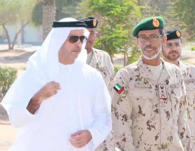 UAE Interior Minister Visits Land Forces Training Center