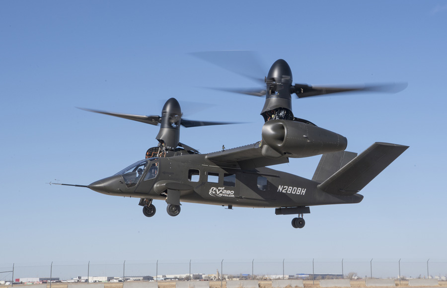 Bell V-280 Valor Achieves First Flight