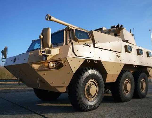 RENAULT TRUCKS Defense VAB MK 3 with CMI 90mm turret