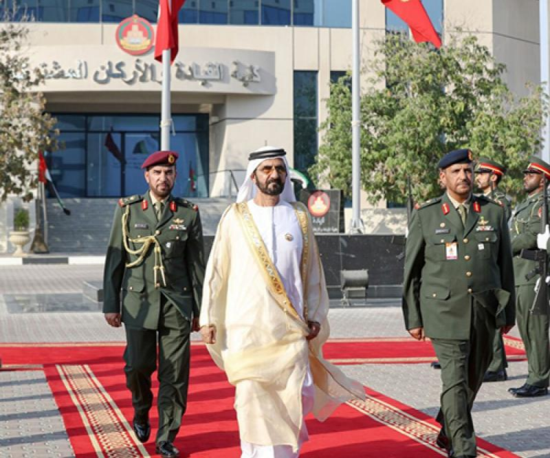 28th Batch of Cadets Graduate from UAE's Joint Command & Staff College