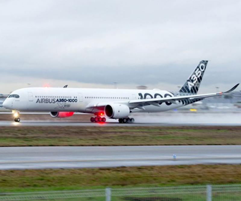 A350-1000 Starts Demo Tour in Middle East & Asia-Pacific