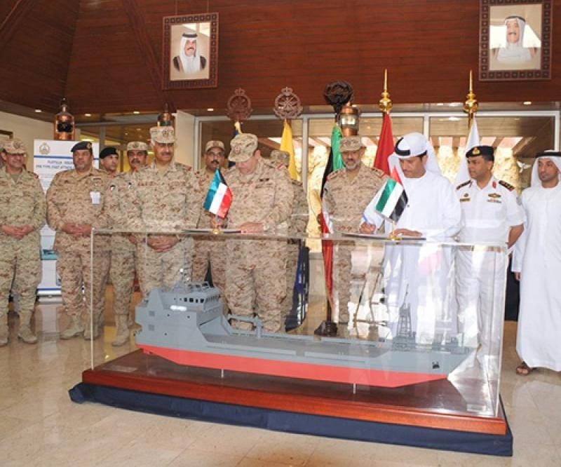 ADSB Launches 2 Landing Ships for Kuwait's Naval Force