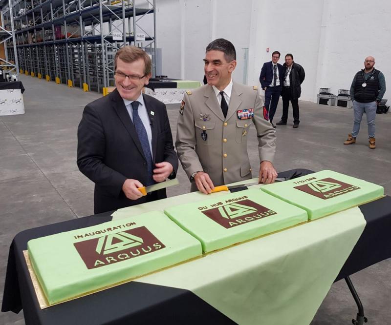ARQUUS Opens Logistics Center in Fourchambault, France