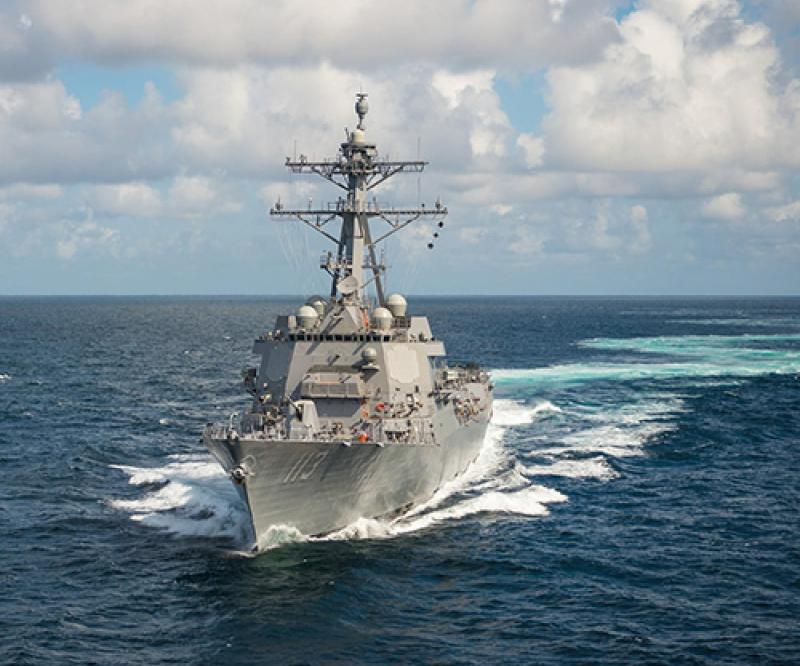 Aegis Tested At-Sea Against Medium Range Ballistic Missile