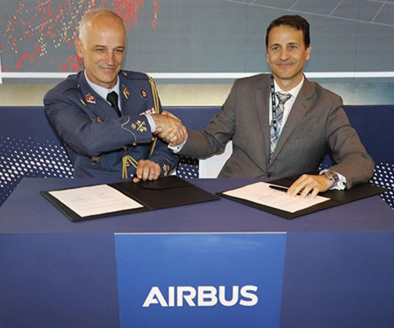 Airbus, Spanish Air Force to Develop Drone for Military Aircraft