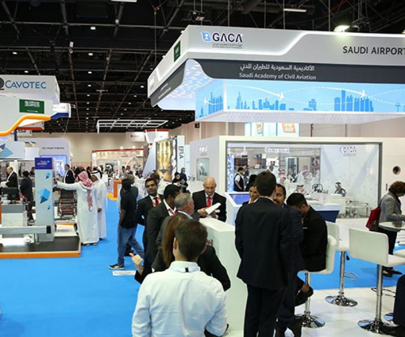 Airport Show Remains Key B2B Venue for Saudi Exhibitors