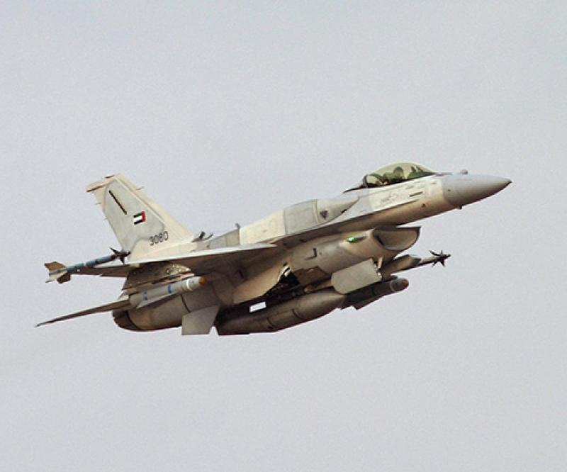 BAE to Provide Flight Controls for UAE's Next-Generation F-16s