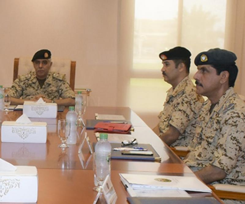 Bahrain's Chief-of-Staff Chairs Royal Isa Military College Meeting