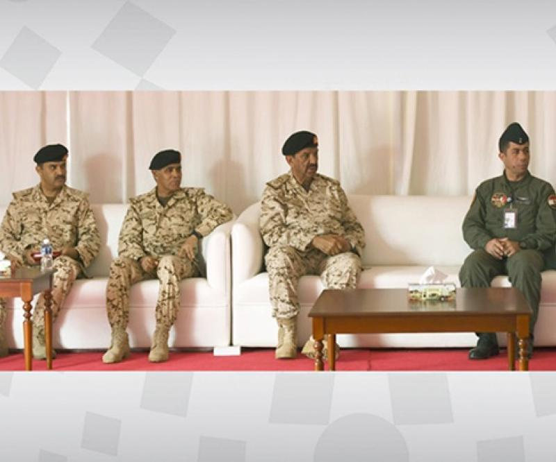 "Bahrain's Commander-in-Chief Attends ""Hamad-3' Drill"