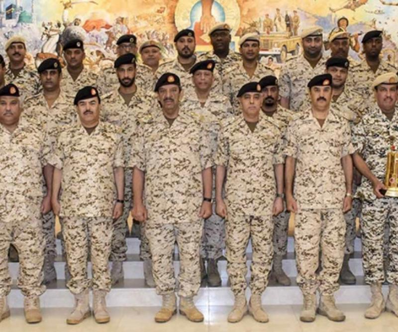 Bahrain's Commander-in-Chief Honors Special Royal Force