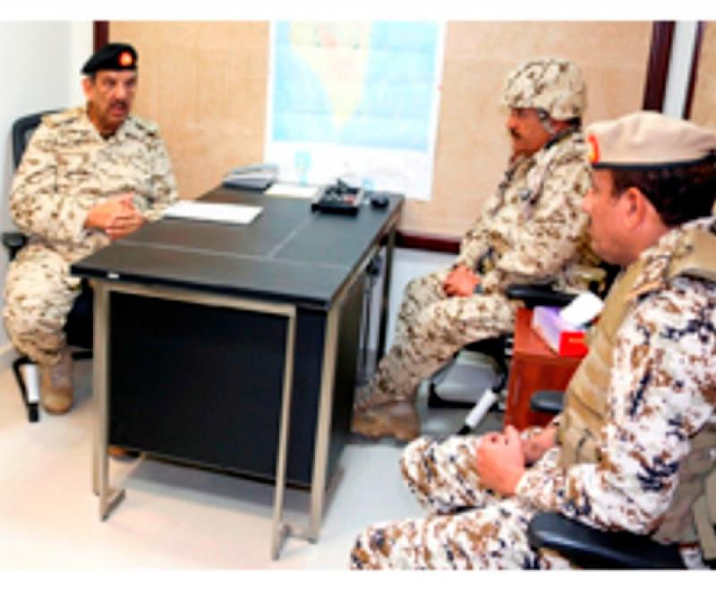 Bahrain's Commander-in-Chief Inspects Joint Drill