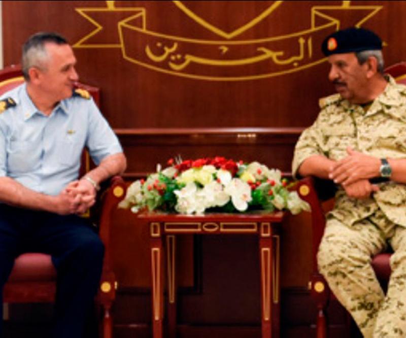 Bahrain's Commander-in-Chief Receives Italian Delegation