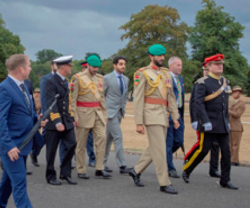 Bahrain Royal Guard Commanders Visit Sandhurst Academy