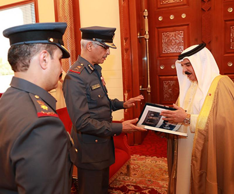 Bahrain's King Hails Royal Air Force Achievements