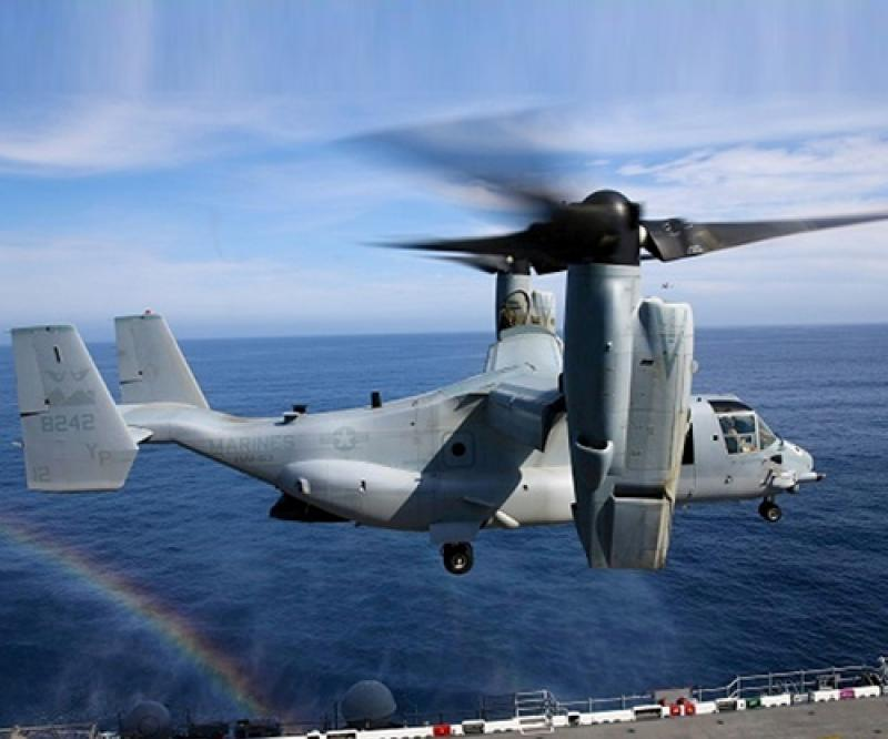 Bell Boeing Awarded V-22 Support Contract