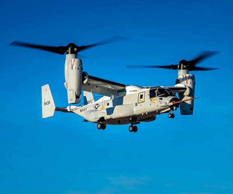 Bell Boeing CMV-22B Osprey Completes First Flight