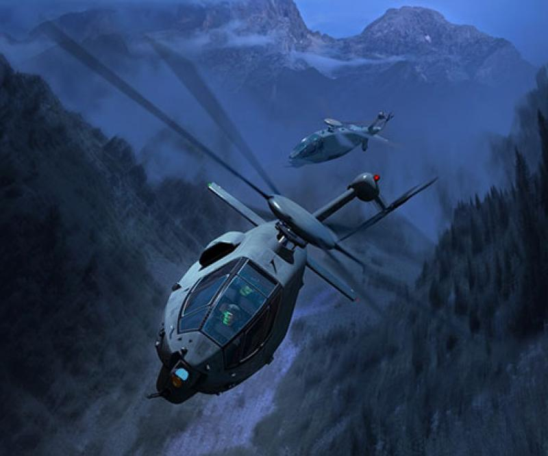 Boeing Unveils its U.S. Army Future Attack Reconnaissance Aircraft Design