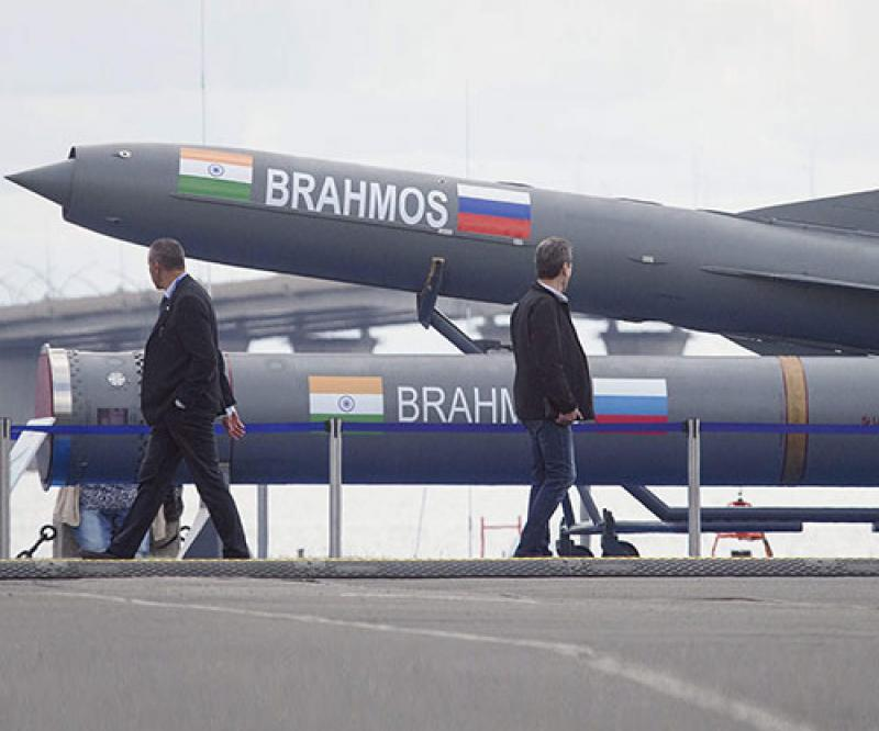 BrahMos Supersonic Cruise Missile Gets Combat Clearance