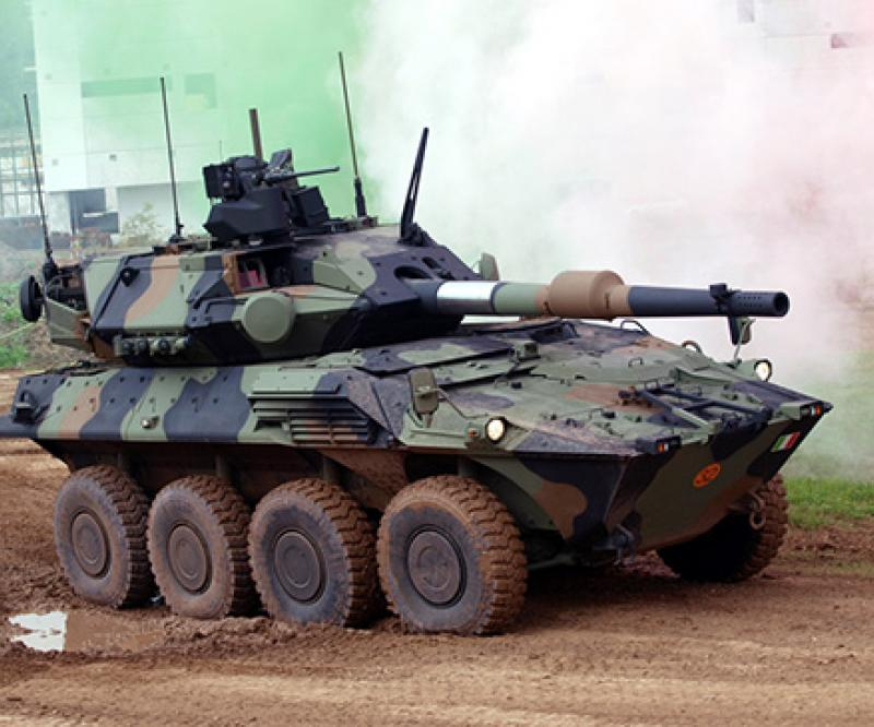 CIO to Deliver 10 Centauro II Armored Vehicles to Italian Army