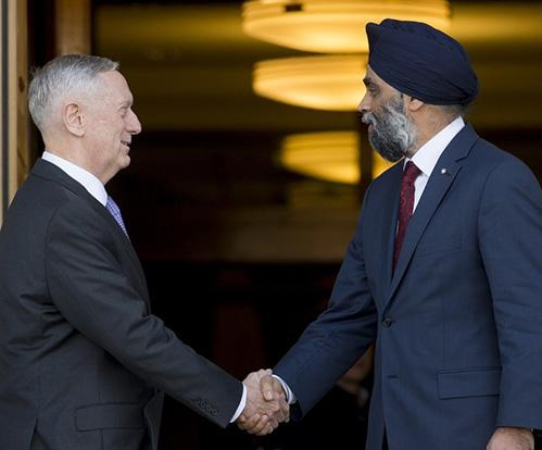 Canada, U.S. Review Mutual Defense, Security Priorities