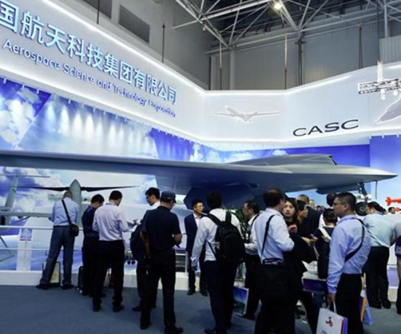 China Unveils Mock-Up of New Stealth Unmanned Aircraft