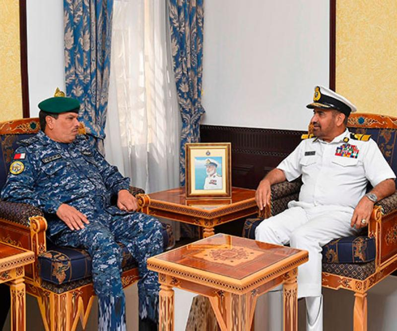 Commander of GCC Unified Maritime Operations Center Visits Oman