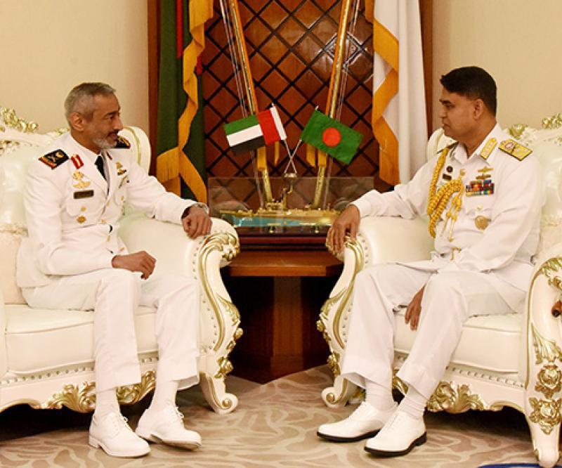 Commander of UAE Naval Forces Visits Bangladesh