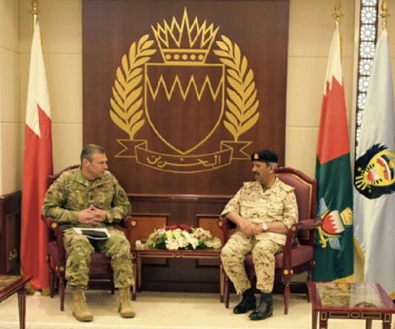 Commander of US Air Forces Central Command Visits Bahrain