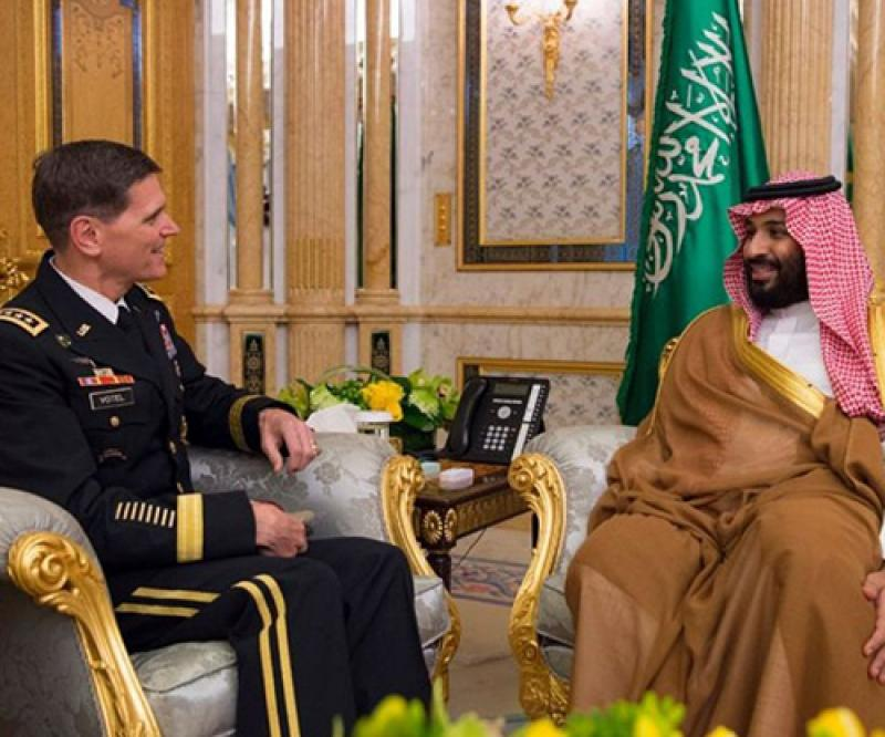 Commander of US Central Command Visits Saudi Arabia, UAE