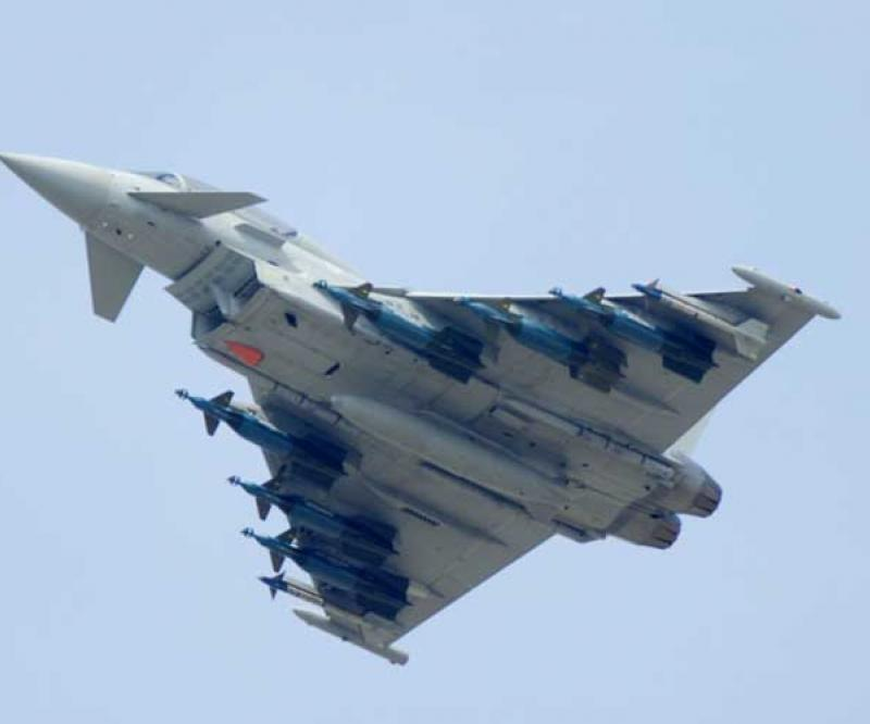LM to Integrate Sniper ATP onto Eurofighter Typhoon