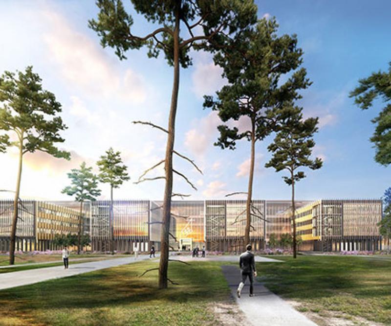 Dassault Aviation Launches Office Building for its Mérignac Plant