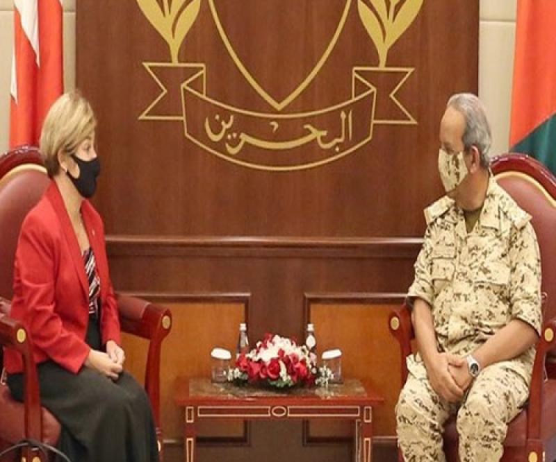 Director of U.S. Defense Security Cooperation Agency Visits Bahrain
