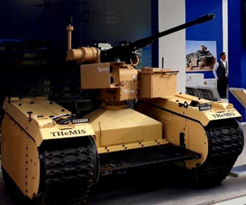 EOS, Milrem Robotics Demo Unmanned Warfare System With 30mm RWS