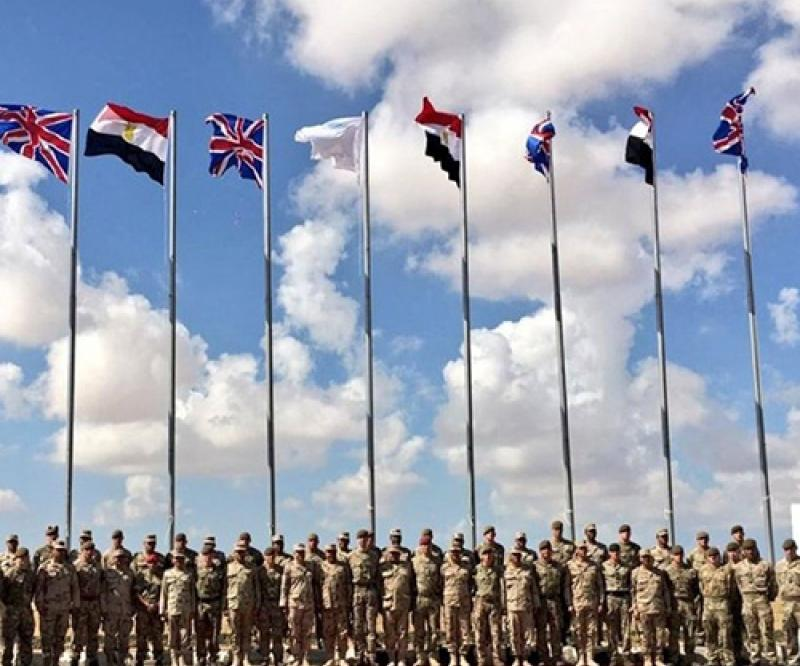 Egypt, UK Start Joint AHMOSE Military Exercise