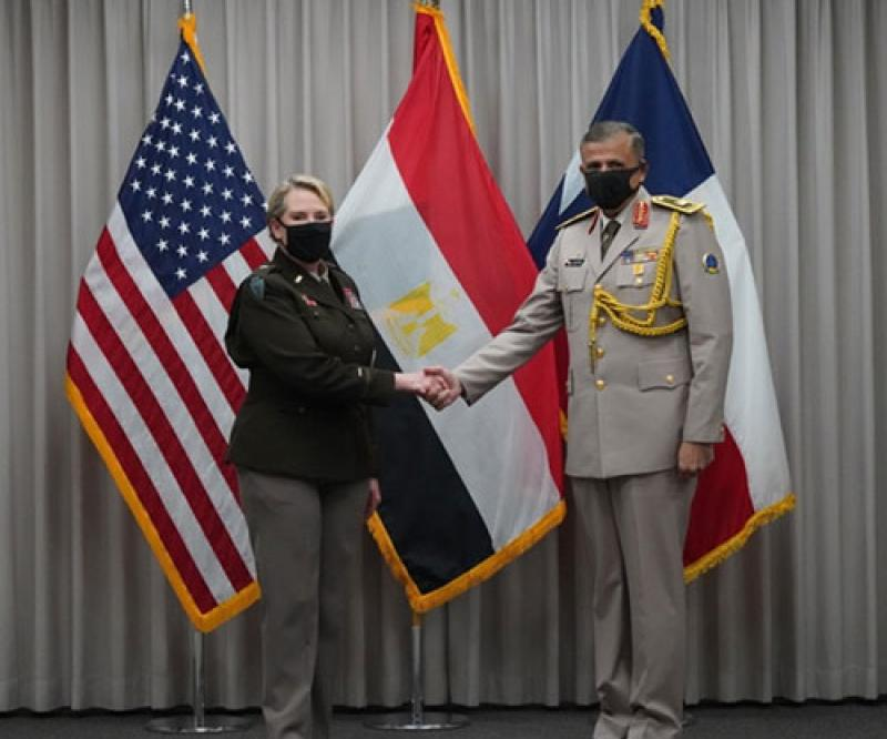 Egypt's Armed Forces, Texas National Guard Form Military Partnership