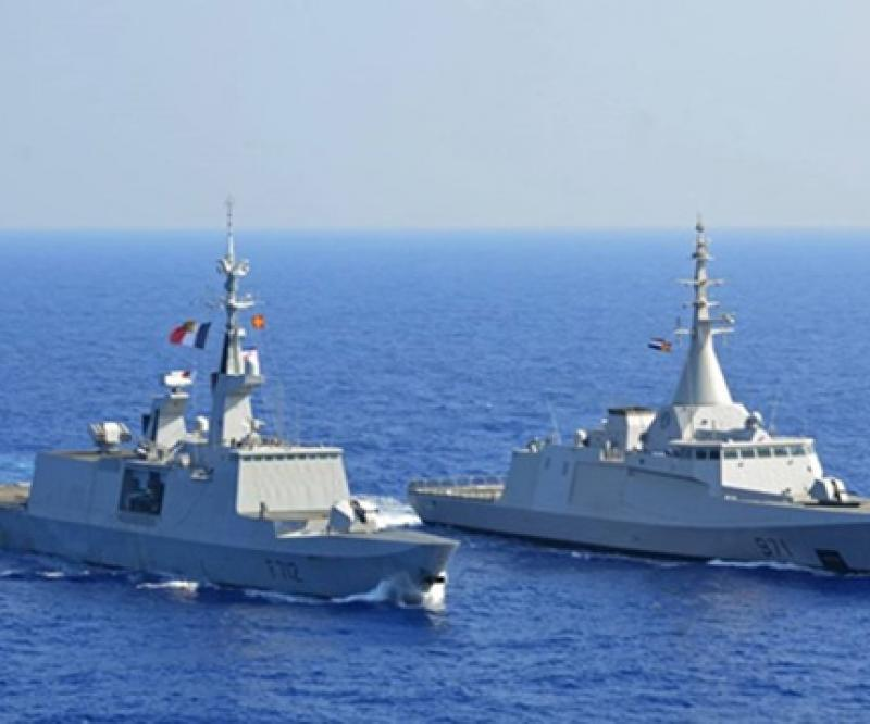 Egypt Launches Two Naval Drills with Britain, France