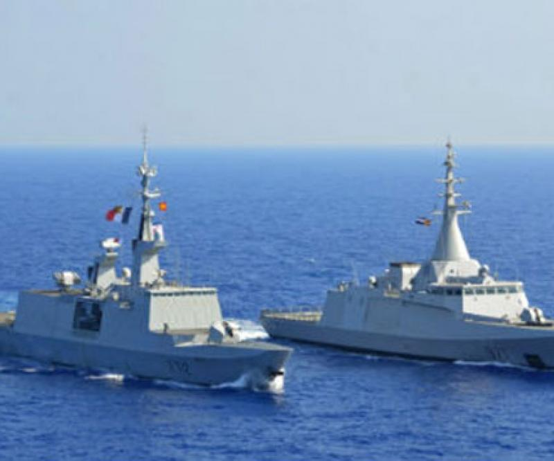 Egyptian, French Naval Forces Conduct Maritime Training Exercise